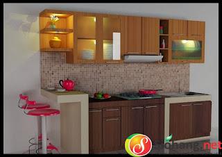 Kitchen Set Aluminium Sederhana Dan Modern