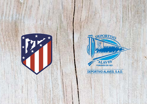 Atletico Madrid vs Deportivo Alaves - Highlights 08 December 2018