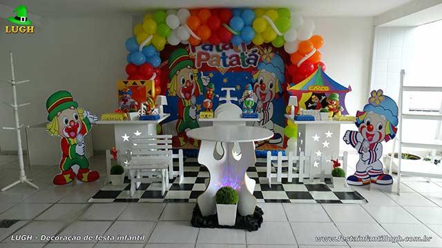 Decoração da mesa de aniversário tema Patati Patatá - Mesa decorada provençal para festa infantil - Barra - RJ