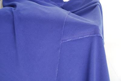 a piece of blue-violet grape
