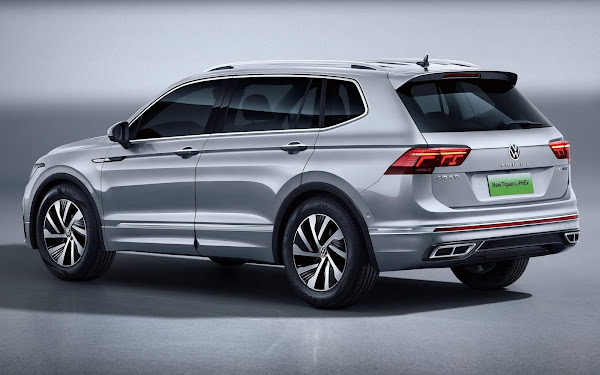 Volkswagen Tiguan L 2022 alongado para China: lançamento no Salão de Hong Kong