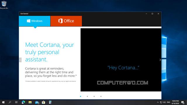 windows 10 demo mode screen - وضع العرض ويندوز 10