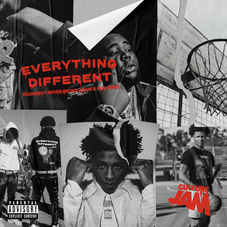 Culture Jam, Rod Wave & NBA Youngboy - Everything Different