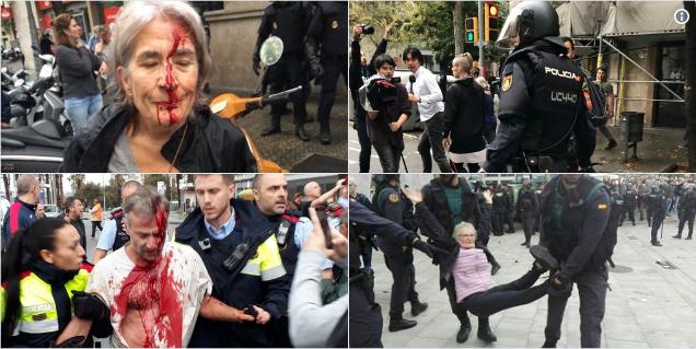 Trotz Polizeigewalt: Katalanen votieren für die Unabhängigkeit