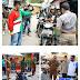 Plt Walikota Medan Pantau Langsung Razia Masker di 10 Kecamatan, 149 KTP ditahan, Puluhan Orang dihukum Push Up