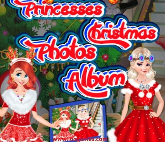 Best Princesses Christmas Photos Album - Free play ioogames