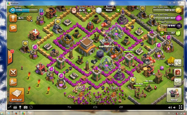 Cara Main Clash of Clans Di PC