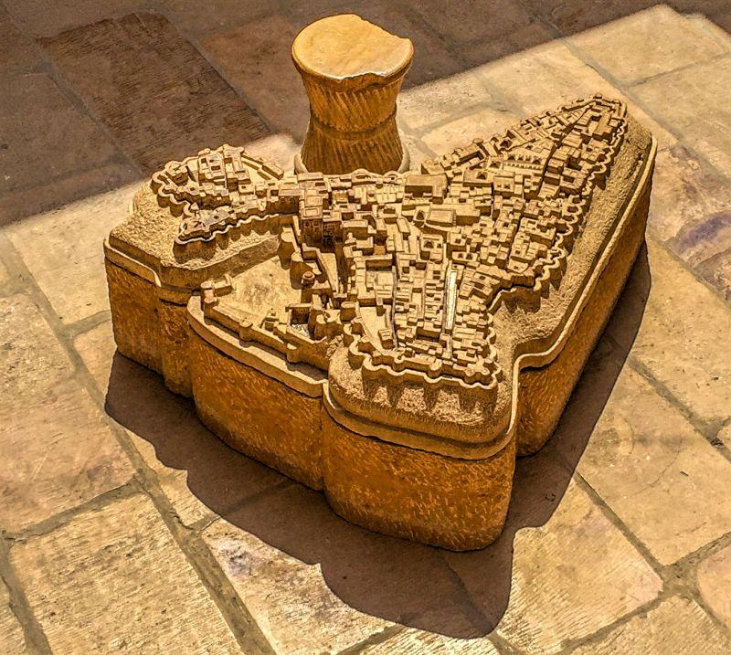 Map of Jaisalmer Fort