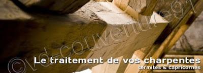 traitement des bois de charpente