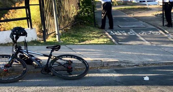 Ciclista muere tras ser atropellado por camión recolector de basura en Las Condes