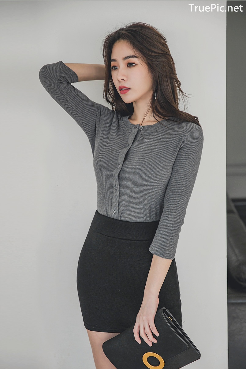 Image Korean Fashion Model - An Seo Rin - Office Dress Collection - TruePic.net - Picture-6