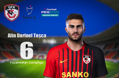 PES 2021 Faces Alin Dorinel Toșca by CongNgo
