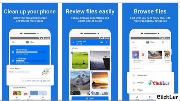 Files By Google - ES File Explorer Alternative