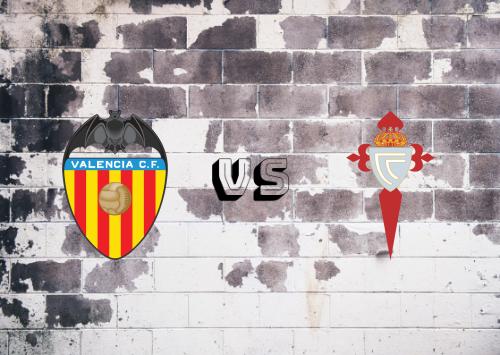 Valencia vs Celta de Vigo  Resumen