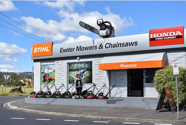 Exeter BIG Chainsaw | BIG Things Tasmania