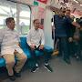 Naik MRT, Prabowo: Terima Kasih Pak Jokowi...