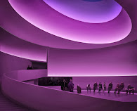 JAMES TURRELL AT SOLOMON R. GUGGENHEIM MUSEUM