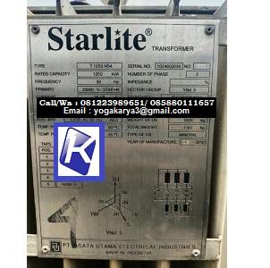 Jual Perangkat Listrik Travo Starlite T 1250 N54 di Jakarta