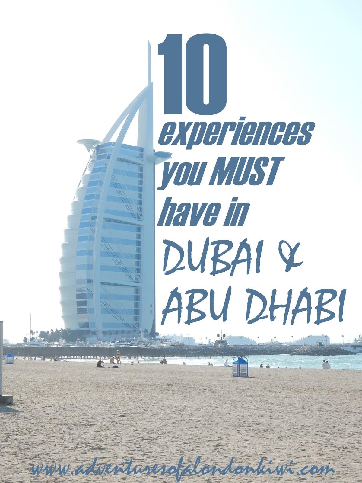 City guide to Dubai and Abu Dhabi