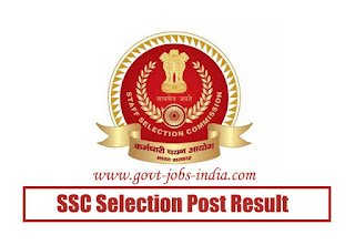 SSC Selection Post Phase-7 Result 2019
