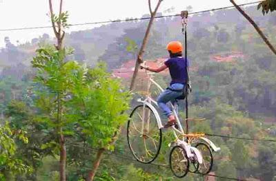 skybike dago dream park bandung