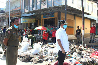 Walikota Pantau Kondisi Terakhir Kota Bima Pasca Banjir