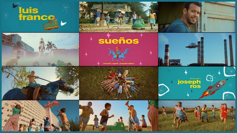 Luis Franco - ¨Sueños¨ - Videoclip - Director: Joseph Ros. Portal Del Vídeo Clip Cubano