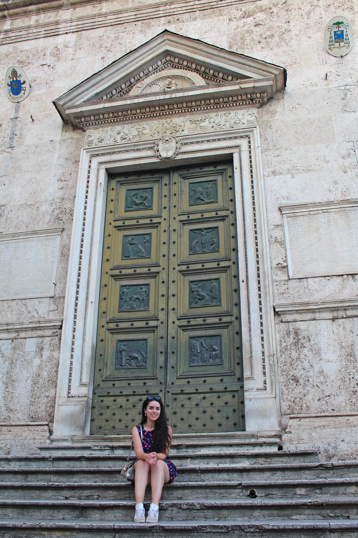 Basilica Parrocchiale Santa Maria del Popolo, Rome - style & travel blog