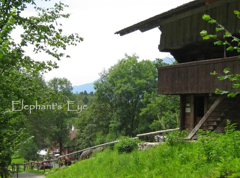 Swiss chalet at Ballenberg