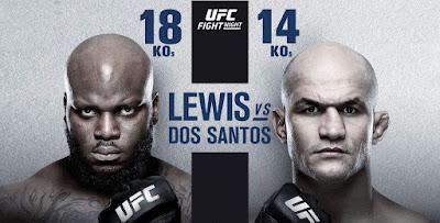 Ver UFC Fight Night: Lewis vs Dos Santos En vivo En Español Online