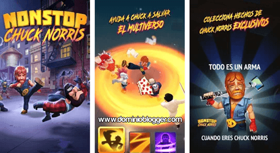 App Nonstop Chuck Norris para Android