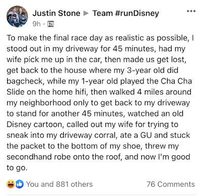 Justin Stone rundisney