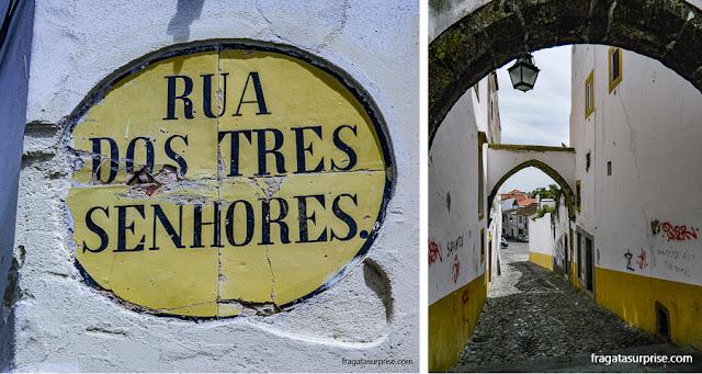Ruas medievais de Évora