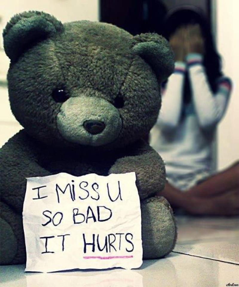 Sad I Miss U Quotes: Miracle Of Love: Love Hurt