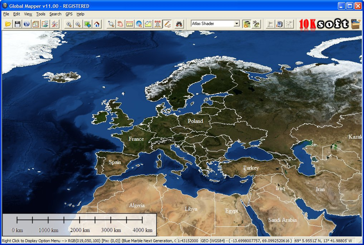 Global Mapper 15 Free Download