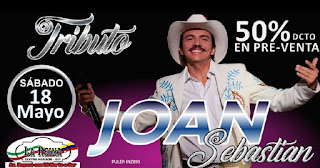 Concierto Tributo a Joan Sebastian en Bogotá 2019