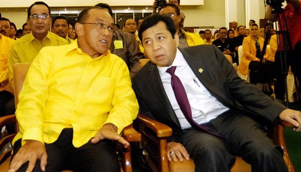 Abu Rizal Bakrie dan Setya Novanto