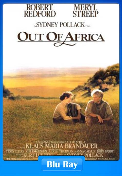 Out of Africa 1985 Hindi 720p BluRay Dual Audio ESub x264 | 480p 300MB | 100MB HEVC