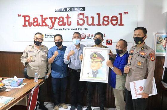 Kabid Humas Polda Sulsel Silaturahmi ke Rakyat Sulsel