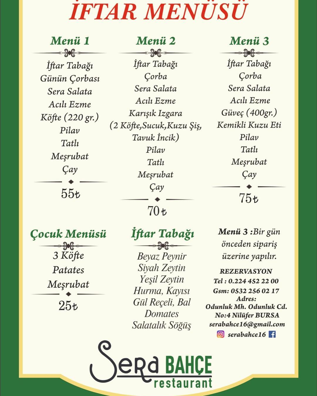 bursa iftar mekanları 2019 bursa iftar menüleri 2019 bursa iftar menüsü 2019
