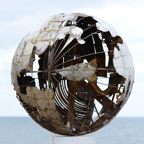 Ed Hill Metal Art - Sphere