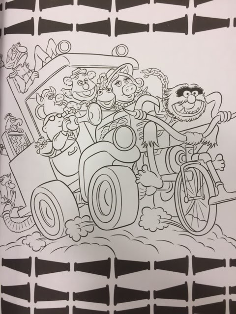 Muppet Stuff Muppets Art of Coloring Now Available