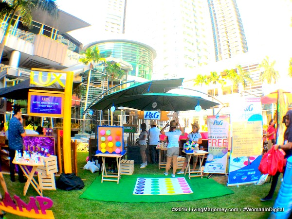 Unilever and P&G Booth at Robinsons Wellness