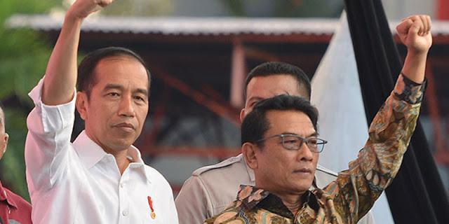 Ada Kekuatan Besar Di Belakang Moeldoko Yang Buat Jokowi Tak Berdaya