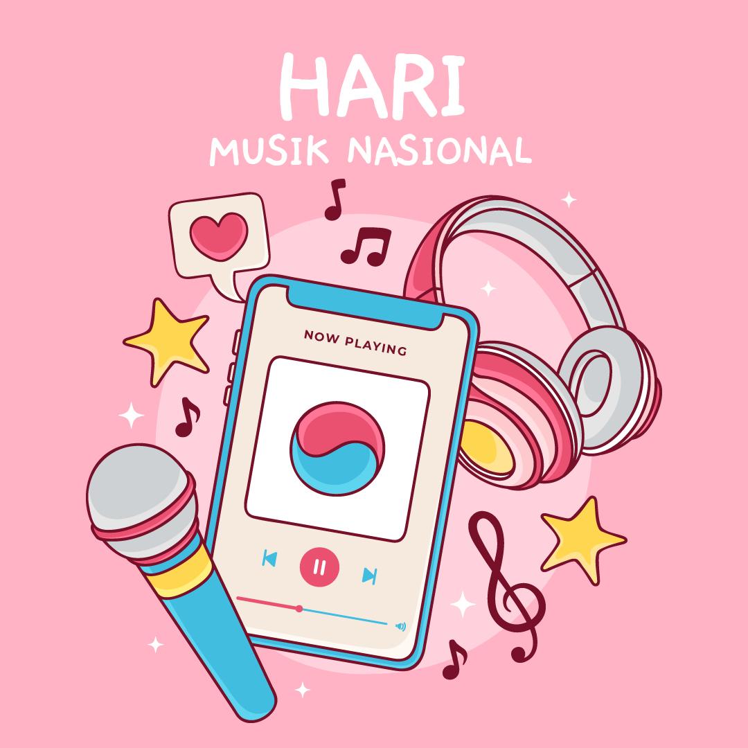 Gambar Ucapan Hari Musik Nasional 07