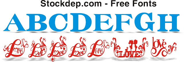 Fonts logo free