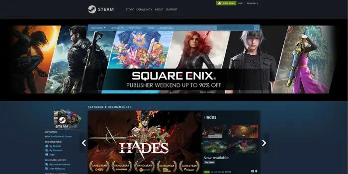 Steam - tempat download game pc gratis legal