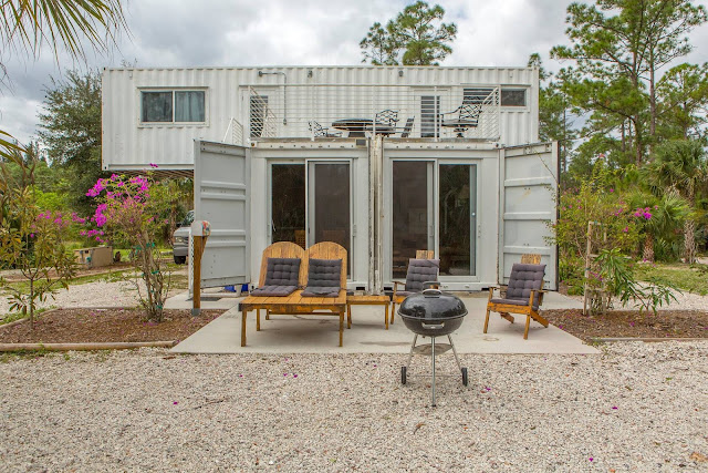 Headwaters Eco Retreat Shipping Container House, Florida 2