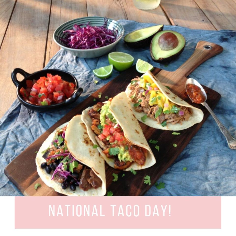 National Crunchy Taco Day Wishes For Facebook