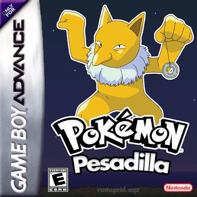 Pokemon Pesadilla GBA ROM Hack Download
